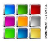 internet web button set | Shutterstock . vector #171426416