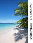 Small Island In The Maldives...