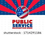 public service recognition week ... | Shutterstock .eps vector #1714291186