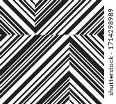 pattern with oblique black... | Shutterstock .eps vector #1714298989