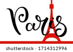 Hand Lettering Paris With The...