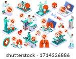 coronavirus disease covid 19... | Shutterstock .eps vector #1714326886