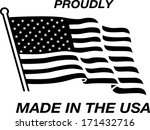 made in the usa | Shutterstock .eps vector #171432716