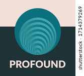 profound is circle commercial... | Shutterstock .eps vector #1714379269