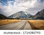 Mount Cook Or Aoraki National...