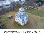 Above The Ancient Church Of The ...