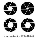 camera shutter | Shutterstock .eps vector #171448949
