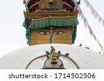 thamel kathmandu nepal   23 oct ... | Shutterstock . vector #1714502506