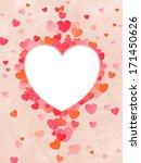 valentine's day background.... | Shutterstock . vector #171450626