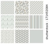 seamless geometric hipster... | Shutterstock .eps vector #171452084