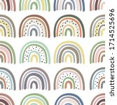 seamless  pattern with... | Shutterstock .eps vector #1714525696