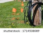 Fiber Optic Cable  Orange...