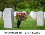 Headstones In Arlington...