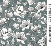 Romantic Vector Pattern With...