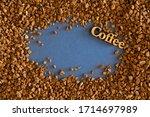 close up granular instant...   Shutterstock . vector #1714697989