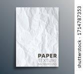 paper texture background design ... | Shutterstock .eps vector #1714787353