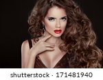 beautiful hair  fashion woman... | Shutterstock . vector #171481940