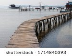 Wooden Pier On The Starfish...