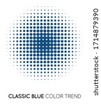 Classic Blue Trendy Color...