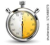 stop watch  30 seconds | Shutterstock .eps vector #171488573