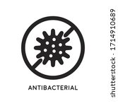 antibacterial and antiviral...   Shutterstock .eps vector #1714910689