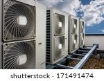 air conditioning system... | Shutterstock . vector #171491474