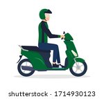 icon or cartoon character flat... | Shutterstock .eps vector #1714930123