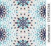 seamless floral pattern....   Shutterstock .eps vector #1714931266