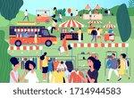 Summer Fair. Festive Food ...