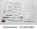 big set of different medical... | Shutterstock . vector #1714991083
