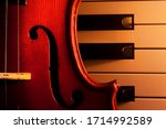 Violin On Electric Piano With...