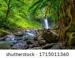 La Fortuna Waterfall In The...