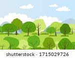 illustration of a spring...   Shutterstock .eps vector #1715029726