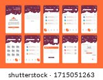 instant delivery storage app ui ...