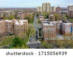 Aerial View Of The Spuyten...