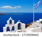 Traditional Church In Santorini ...