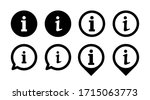 information vector icons...