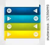 elements of infographic. modern ... | Shutterstock .eps vector #171506993