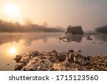 Misty Sunrise Over Nymboida...