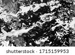white and black watercolor ink... | Shutterstock . vector #1715159953