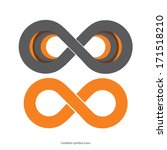 set of limitless icons | Shutterstock .eps vector #171518210