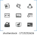 web icon set and software with...