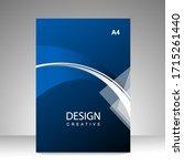 book cover design modern....   Shutterstock .eps vector #1715261440
