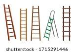 wooden or steel step ladders...