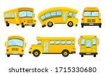 Yellow School Bus Viewed From...