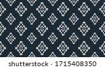 flower damask ornate seamless...   Shutterstock .eps vector #1715408350