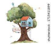 beautiful stock illustration... | Shutterstock . vector #1715411899