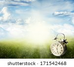 Alarm Clock In Sunlit Spring...