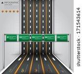 road   street business... | Shutterstock .eps vector #171543614