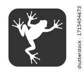 Frog Graphic Icon. Frog Sign I...